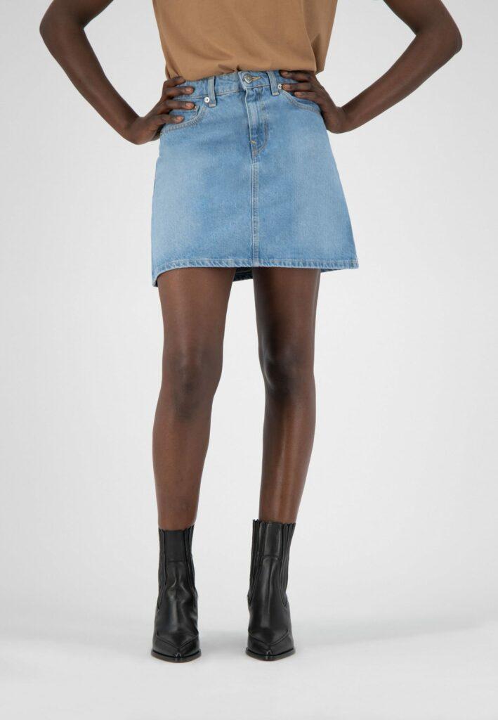 Jupe en jean la mode plus juste